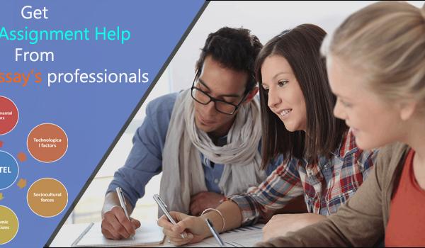 PESTEL Assignment help - BookMyEssay