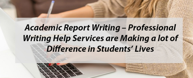 Academic report writing help