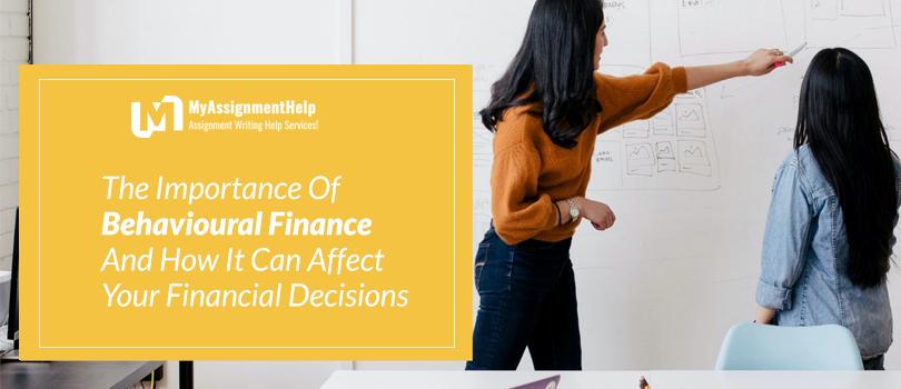 Behavioural Finance