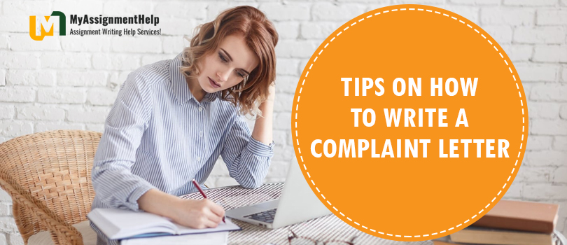How to write a complaint letter